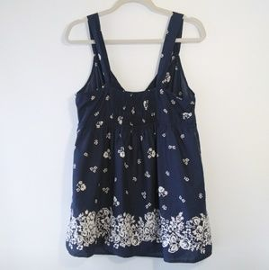 Faded Glory Tops - Faded Glory Cotton Floral Tank Top